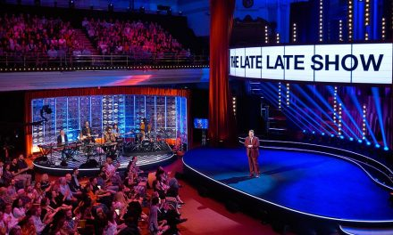 Central Hall Westminster hosts 'The Late Late Show with James Corden' for second year running
