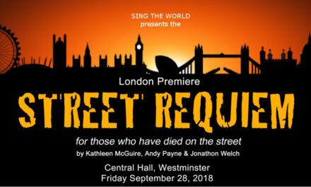 Hope Concert feat. London premiere of Street Requiem