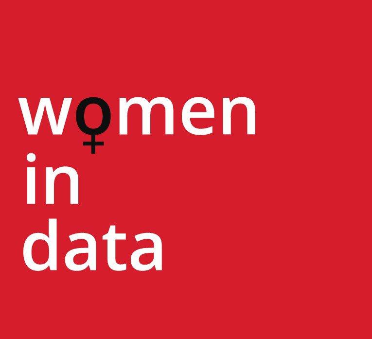 Logo for women in data