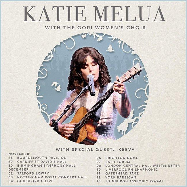 Tour date list for Katie Melua
