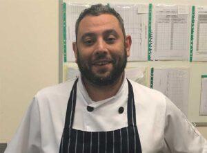Head chef, Daniel Melhuish