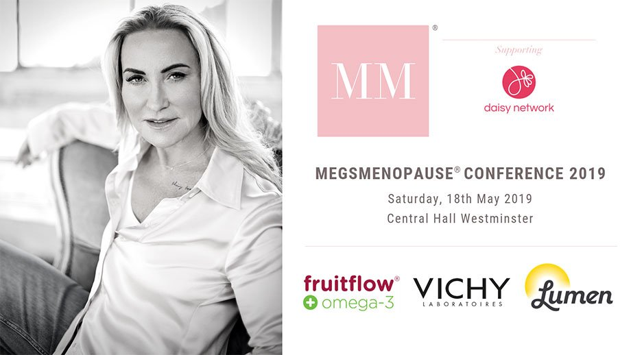 Image for the menopause conference 2019 at Central Hall Westminster