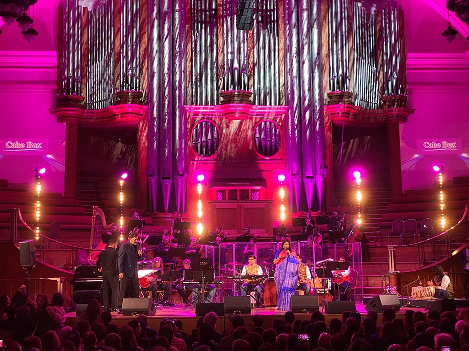 Forever Love, live concert at Central Hall Westminster, London